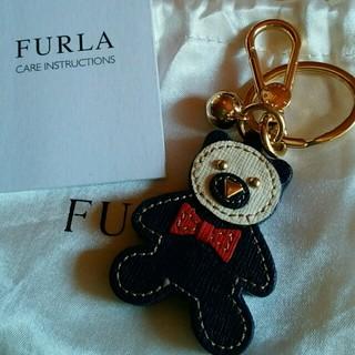 フルラ(Furla)の(もも様専用)フルラ♡バッグチャーム 新品未使用 くまさん(キーホルダー)