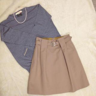 トゥモローランド(TOMORROWLAND)のMACPHEE スカート(ひざ丈スカート)