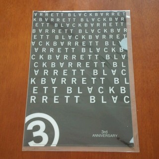 ブラックバレットバイニールバレット(BLACKBARRETT by NEIL BARRETT)の【新品】BLACKBARRETT by NEIL BARRET クリアファイル(クリアファイル)