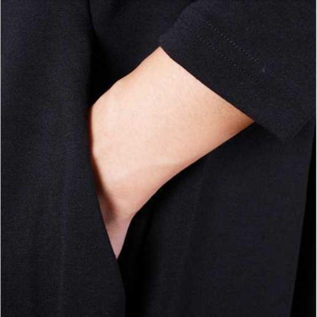 破格♪ベージュ/L ルーズワンピース コクーンバルーンシルエット マタニティにも レディースのワンピース(ひざ丈ワンピース)の商品写真