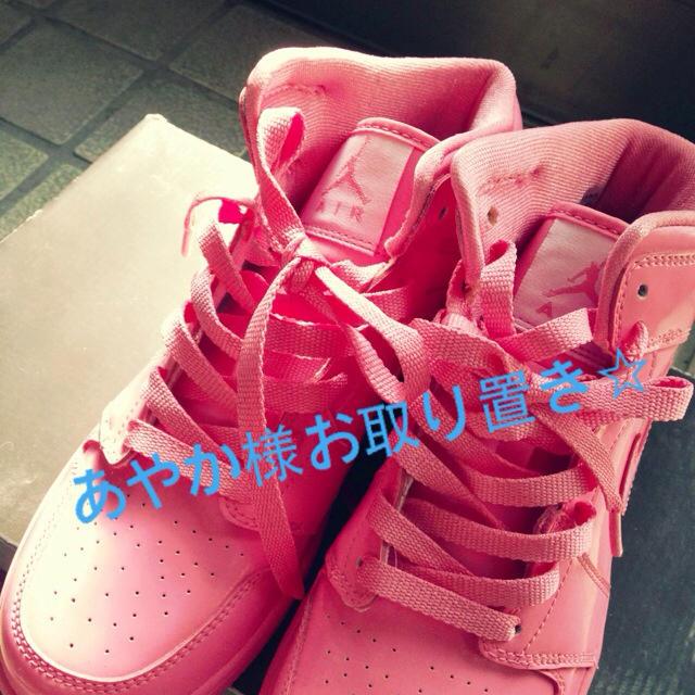 NIKE(ナイキ)のNIKE AIR GIRLSJORDAN レディースの靴/シューズ(スニーカー)の商品写真