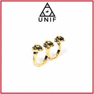 ユニフ(UNIF)のUNIF♡LOOP RING GOLD (リング(指輪))