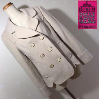 ドーリーガールバイアナスイ(DOLLY GIRL BY ANNA SUI)のDOLLY GIRL ANNA SUI ふわふわジャケット コート(ピーコート)