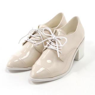 ミスティック(mystic)の新品❤︎mystic❤︎エナメルレースアップシューズ(ローファー/革靴)