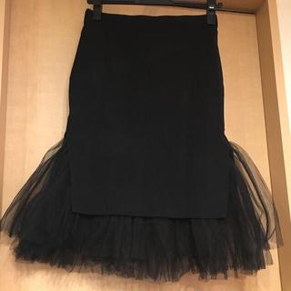 ルシェルブルー(LE CIEL BLEU)のチュールスカート ♡ ルシェルブルー(ひざ丈スカート)