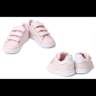 アディダス(adidas)の新品未使用 アディダス スタンスミス ピンク 14.5㎝(スニーカー)