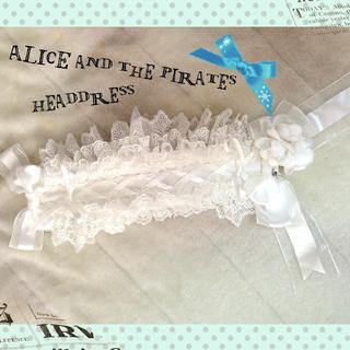 アリスアンドザパイレーツ(ALICE and the PIRATES)のA/P♡ヘッドドレス(ヘアバンド)