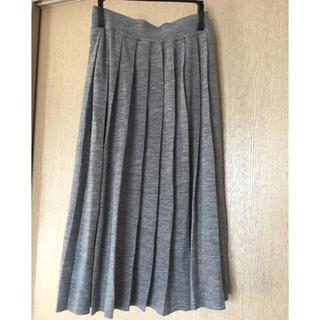 ユニクロ(UNIQLO)のユニクロ プリーツ ロングスカート Sサイズ(ロングスカート)