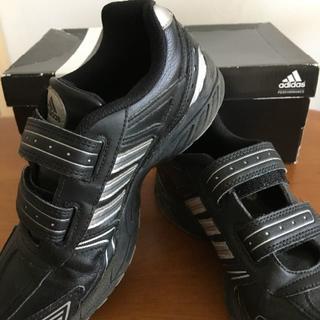 アディダス(adidas)のアディダス キッズスニーカー黒 21.5㎝(スニーカー)