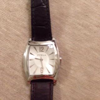 フルラ(Furla)の【取置き】FURLA 腕時計✴︎濃茶革(腕時計)