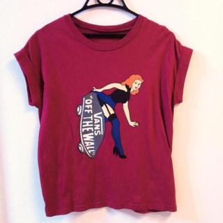 スライ(SLY)のSLY×VANS Tシャツ(Tシャツ(半袖/袖なし))