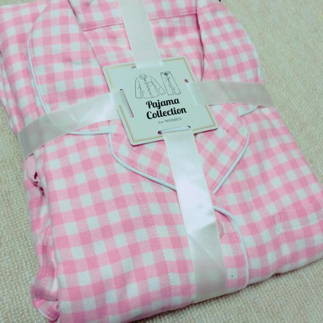 GU(ジーユー)の新品 ギンガムチェックパジャマ レディースのルームウェア/パジャマ(パジャマ)の商品写真