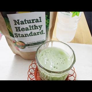 賞味期限間近!ナチュラル酵素グリーンスムージー(マンゴー味)3袋セット(ダイエット食品)