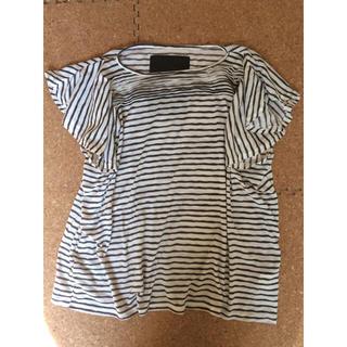 オキラク(OKIRAKU)のカレン様専用TOPIOフレアスリーブカットソーTシャツ(カットソー(半袖/袖なし))