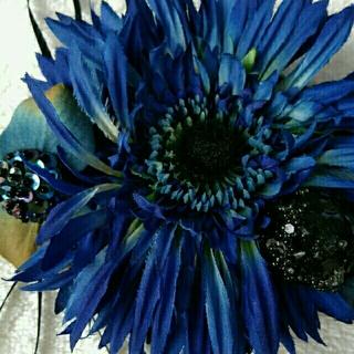 フリフ(ふりふ)の《送料込み》ふりふの髪飾り♡ブルー系(その他)