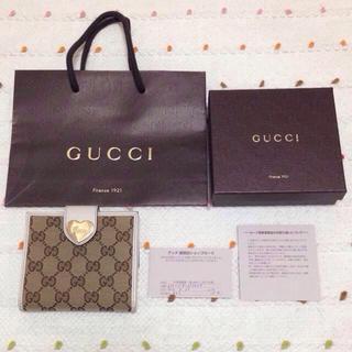 グッチ(Gucci)のGUCCI 折りたたみ財布(財布)