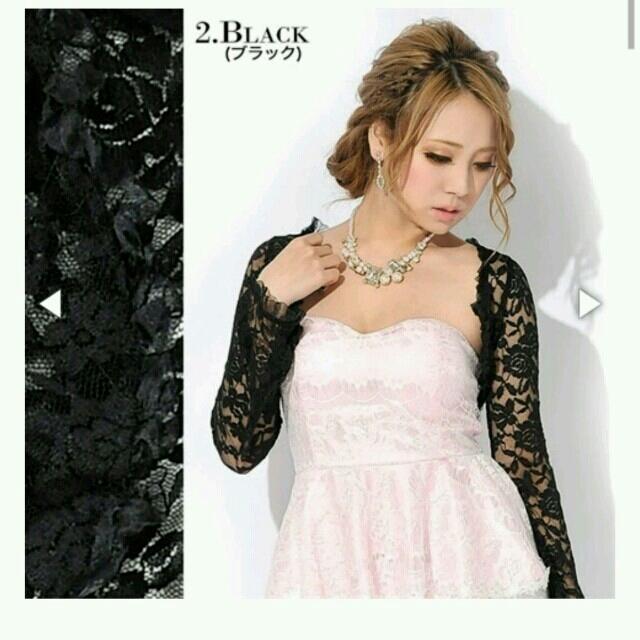 097995ffb87b8 dazzy store - Dazzy レースボレロ 羽織 黒の通販 by rina|デイジー ...