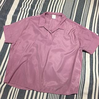 ハレ(HARE)のHARE スキッパーシャツ(シャツ/ブラウス(半袖/袖なし))