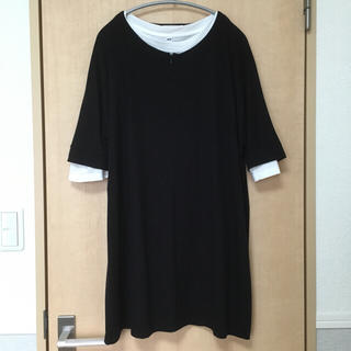 ムジルシリョウヒン(MUJI (無印良品))のミルクティー♡マタニティ&授乳服(マタニティワンピース)