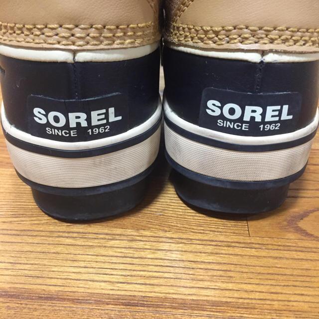 SOREL(ソレル)のSOREL スノーブーツ モデル梨花 24cm スポーツ/アウトドアのスノーボード(ブーツ)の商品写真