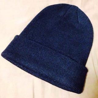 ジーユー(GU)のg.u. ニット帽(ニット帽/ビーニー)