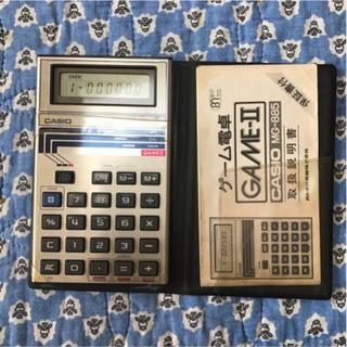 「【希少価値】ゲーム電卓 エイトアタック MG-885 カシオ計算機」に近い商品【希少価値】ゲーム電卓 エイトアタック MG-885 カシオ計算機【希少価値】ゲーム電卓 エイトアタック MG-885 カシオ計算機