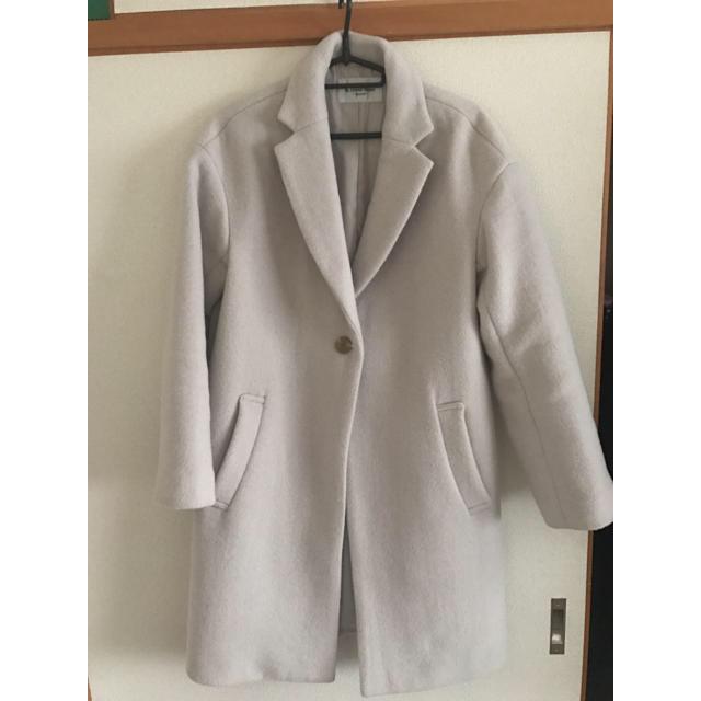 le.coeur blanc(ルクールブラン)のle.coeur blanc チェスターコート レディースのジャケット/アウター(チェスターコート)の商品写真