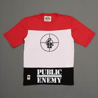 ウォーンバイ(Worn By)のパブリック・エナミーT/worn by TOICOLOUR  [t-0298](Tシャツ/カットソー(半袖/袖なし))
