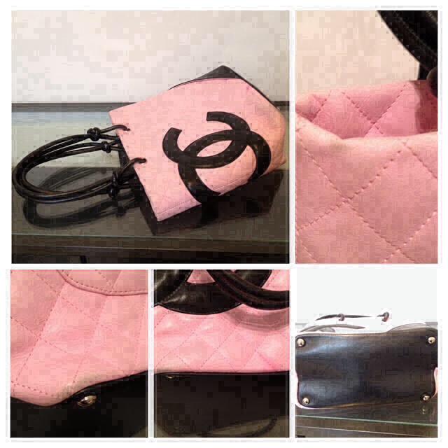 CHANEL(シャネル)のシャネル バッグ カンボンライン ピンク レディースのバッグ(トートバッグ)の商品写真