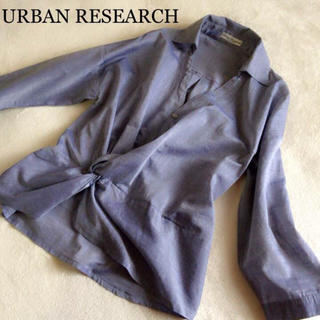 アーバンリサーチ(URBAN RESEARCH)のURBAN RESEARCH カシュクール シャツ(シャツ/ブラウス(長袖/七分))