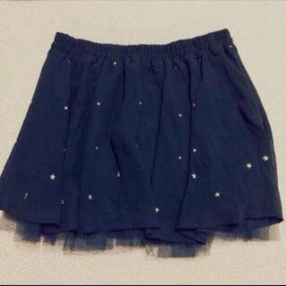 アベイル(Avail)のAvail♡星形スタッズ付きスカート(ミニスカート)