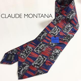クロードモンタナ(Claude Montana)の★新品・タグ付★CLAUDE MONTANA クロードモンタナ(ネクタイ)