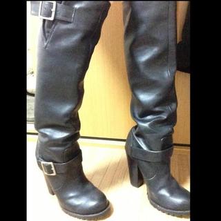 ラグナムーン(LagunaMoon)のロングブーツ(ブーツ)