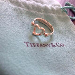 ティファニー(Tiffany & Co.)の☆TIFFANY オープンハートリング☆(リング(指輪))