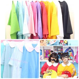 サントニブンノイチ風 ビッグTシャツ ゆめかわいい SPINS WEGO(Tシャツ(半袖/袖なし))