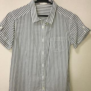 ジーユー(GU)のGU ボーダーシャツ(シャツ/ブラウス(半袖/袖なし))