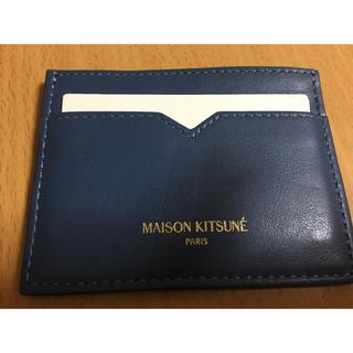 メゾンキツネ(MAISON KITSUNE')のnarafunk様専用限定価格未使用maison キツネのカードケース🦊(名刺入れ/定期入れ)
