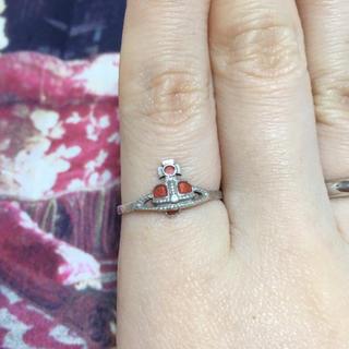 ヴィヴィアンウエストウッド(Vivienne Westwood)のsale!美品 Vivienne ハートオーブリング(リング(指輪))