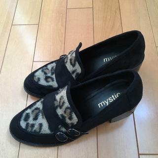 ミスティック(mystic)のmystic♡レオパードシューズ(ローファー/革靴)