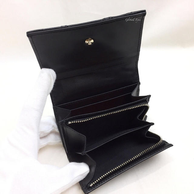 Paul Smith(ポールスミス)のポール スミス メンズ リング付き レザー マルチ コインキーケース ブラック メンズのファッション小物(コインケース/小銭入れ)の商品写真