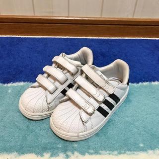 アディダス(adidas)のadidas♡スーパースター♡15cm(スニーカー)
