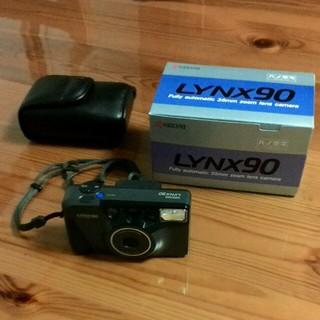 キョウセラ(京セラ)の京セラフィルムカメラ LYNX90  箱・説明書付き(フィルムカメラ)