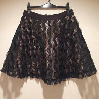 ロキエ(Lochie)のLochie メッシュスカート(ひざ丈スカート)