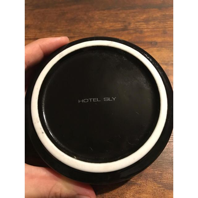 SLY(スライ)の☆SLY HOTEL☆ レア品 レコード灰皿 美品* インテリア/住まい/日用品のインテリア小物(灰皿)の商品写真