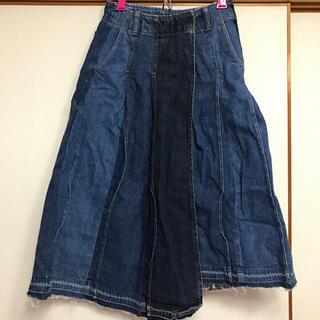 レディアゼル(REDYAZEL)のredyazel デニム巻きスカート(ロングスカート)