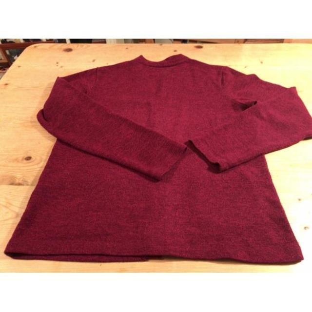 JUNRED ワインレッド カーディガン サイズ1 即日発送! メンズのトップス(ニット/セーター)の商品写真