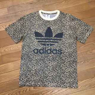アディダス(adidas)のアディダス adidas オリジナルス レオパード 豹柄 Tシャツ 美品(Tシャツ/カットソー(半袖/袖なし))