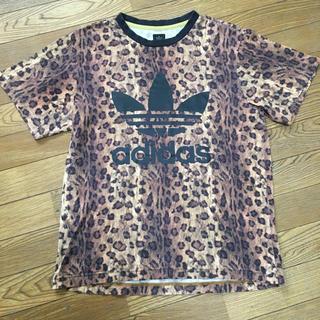 アディダス(adidas)のアディダス adidas オリジナルス レオパード 豹柄アニマル柄 Tシャツ M(Tシャツ/カットソー(半袖/袖なし))