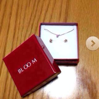 ブルーム(BLOOM)のBLOOM ダイアモンドピアス、リング(ピアス)