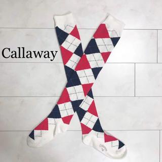 キャロウェイゴルフ(Callaway Golf)のas様専用【Callawayキャロウェイアパレル】ゴルフ靴下ニーハイソックス(ソックス)